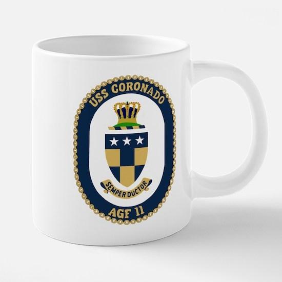 USS Coronado (AGF 11) Mugs