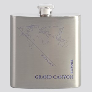 Grand Canyone Geocode (blue) Flask