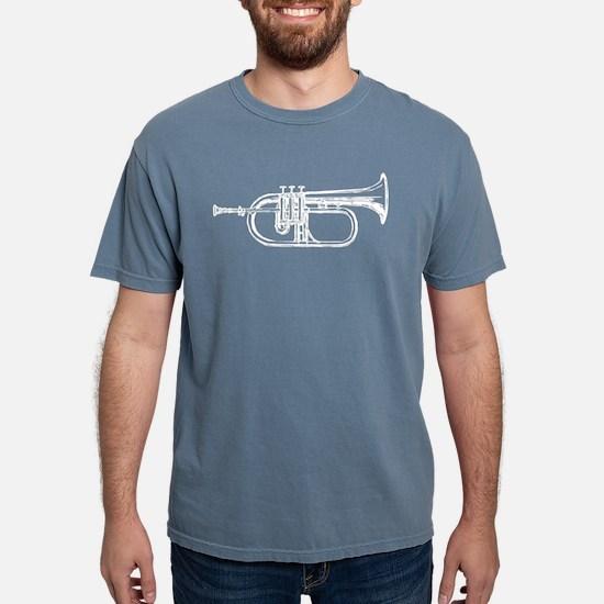 White Trumpet Women's Dark T-Shirt