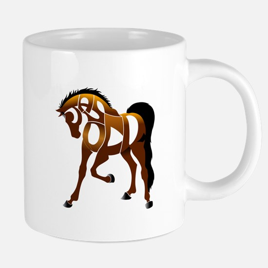 Jasper, the horse Mugs