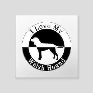 Welsh Hound Sticker