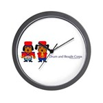 Drum & Beagle Wall Clock