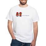 Drum & Beagle White T-Shirt