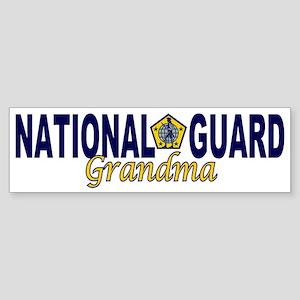 National Guard Grandma Bumper Sticker
