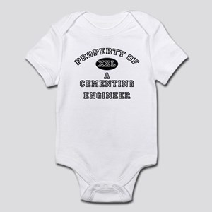 Property of a Cementing Engineer Infant Bodysuit