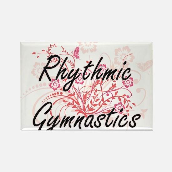 Rhythmic Gymnastics Artistic Design with F Magnets