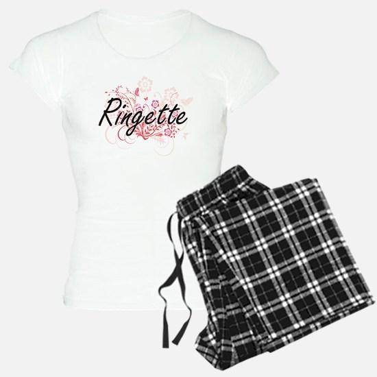 Ringette Artistic Design wi Pajamas