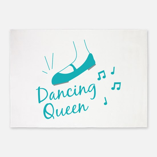 Dancing Queen 5'x7'Area Rug