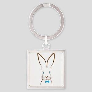 Bowtie Bunny Keychains
