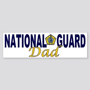 National Guard Dad Bumper Sticker