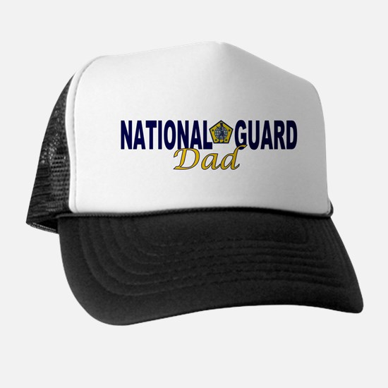 National Guard Dad Trucker Hat