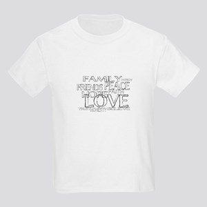 FAITH LOVE FAMILY FRIENDS T-Shirt