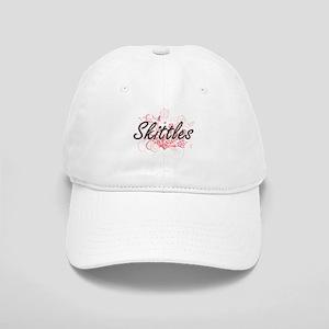 Skittles Artistic Design with Flowers Cap