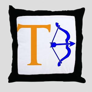 Tebow Throw Pillow
