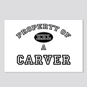 Property of a Carver Postcards (Package of 8)