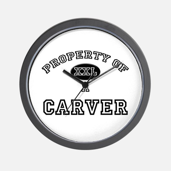 Property of a Carver Wall Clock