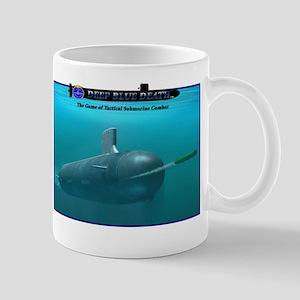 Deep Blue Death Cover Art Captain's Mug