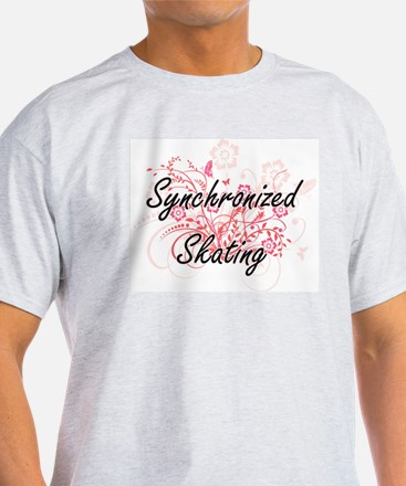 Synchronized Skating Artistic Design with T-Shirt