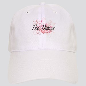 The Discus Artistic Design with Flowers Cap