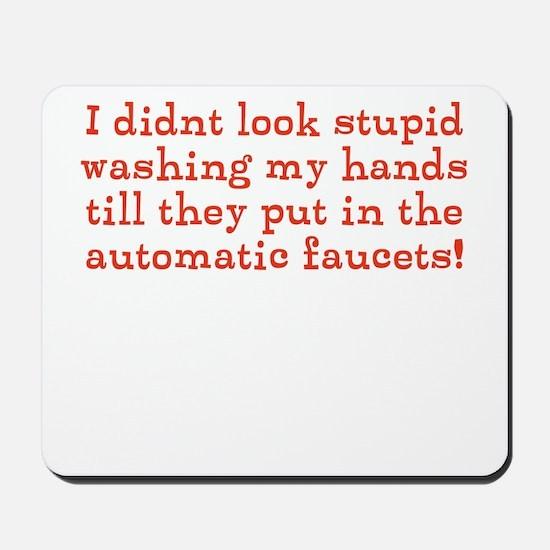 Automatic Faucets Mousepad