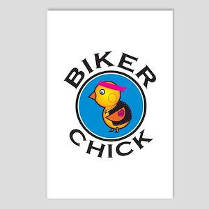 Biker Chick Postcards (Package of 8)