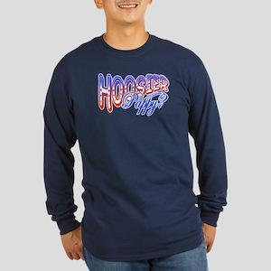 """Hoosier Pappy"" Long Sleeve Dark T-Shirt"