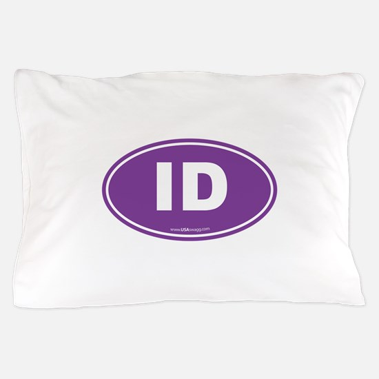 Idaho ID Euro Oval Pillow Case