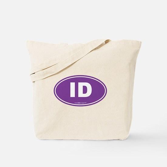 Idaho ID Euro Oval Tote Bag
