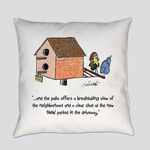 Flippin' The Birdhouse Everyday Pillow