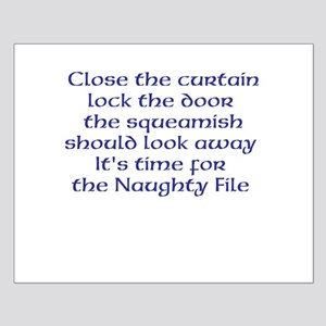 Naughty File Small Poster