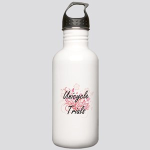 Unicycle Trials Artist Stainless Water Bottle 1.0L