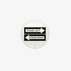 Stage Left Mini Button