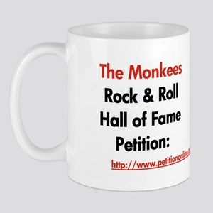 Monkees Rock & Roll Hall of F Mug