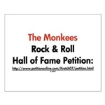 Monkees Rock & Roll Hall of F Small Poster