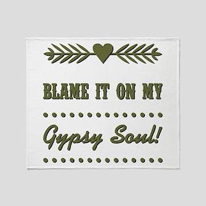 BLAME IT ON... Throw Blanket