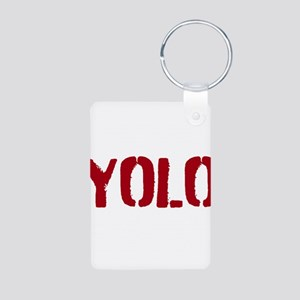 Yolo Aluminum Photo Keychain