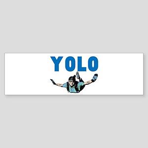 Yolo Sky Diving Sticker (Bumper)