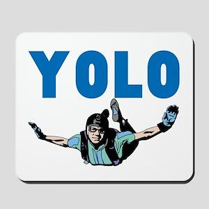 Yolo Sky Diving Mousepad