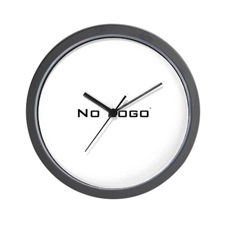 No Logo Wall Clock