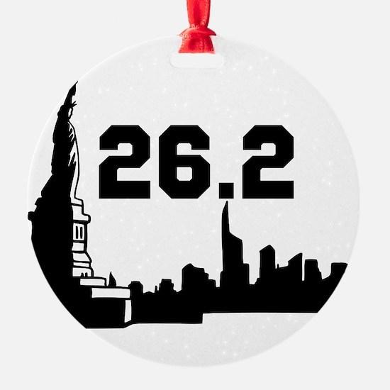 Marathon 26.2 Ornament