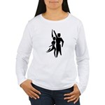 Latin Dancers Women's Long Sleeve T-Shirt