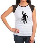 Latin Dancers Women's Cap Sleeve T-Shirt