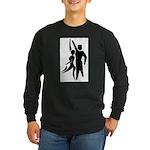 Latin Dancers Long Sleeve Dark T-Shirt