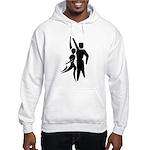 Latin Dancers Hooded Sweatshirt
