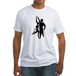 Latin Dancers Fitted T-Shirt