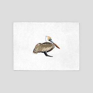 Brown Pelican 5'x7'Area Rug