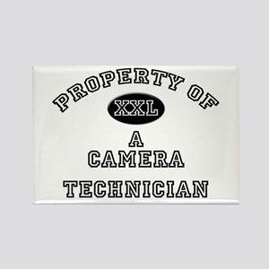 Property of a Camera Technician Rectangle Magnet