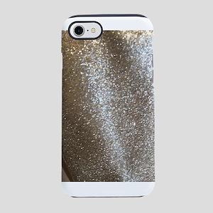 glittery lame metallic close iPhone 8/7 Tough Case