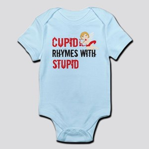 Cupid Rhymes With Stupid Body Suit