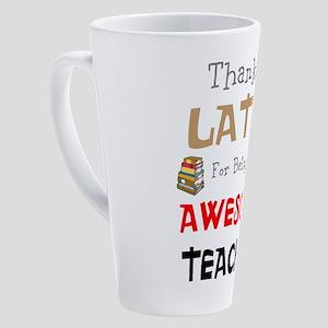 Teacher 17 oz Latte Mug